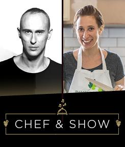 אסף אמדורסקי ואורי שביט  – Chef & Show