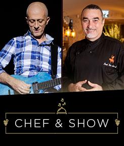 אבי סינגולדה ושאול בן אדרת  – Chef & Show